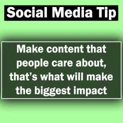 Make Content that People Care About